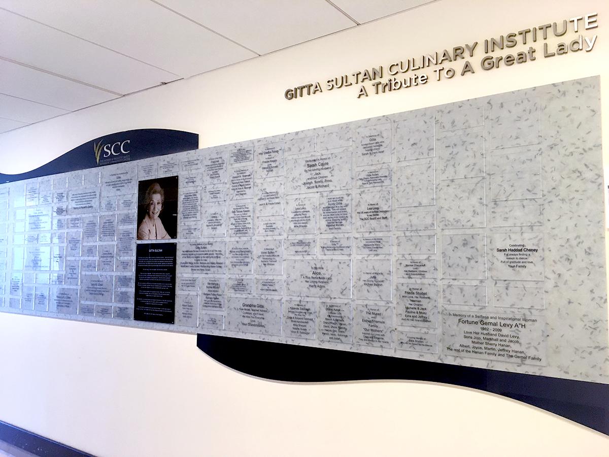 Gitta Sultan plaques