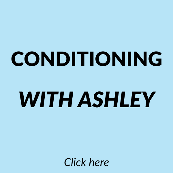 Conditioning with Ashley