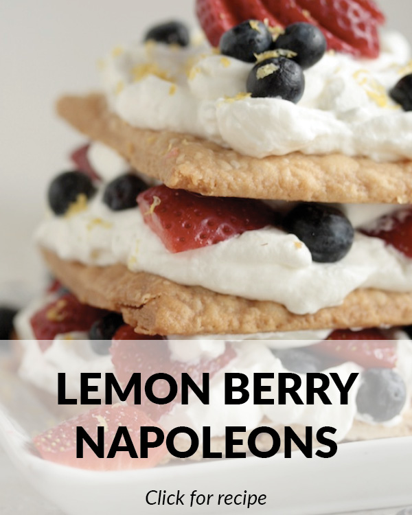 Lemon Berry Napoleons